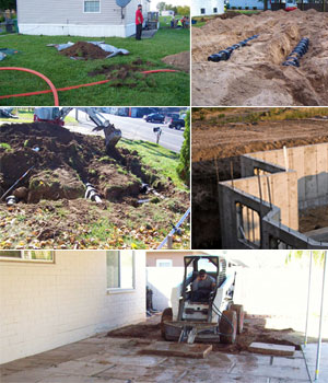 CDP Excavating serving Central New York