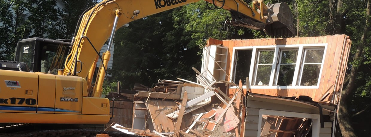 Demolition Contractor in Syracuse NY