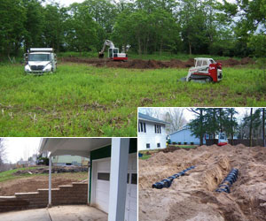 Full service excavating services