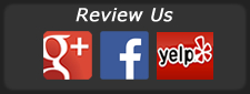 Review Us at Yelp, Google+ and Facebook