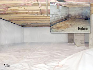Basement waterproofing and foundation repair