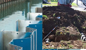Seawall repair, septic tanks, drain fields, excavation in Syracuse NY from CDP Excavating Services